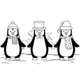 Sleek Designs - Christmas Penguins
