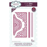 Creative Expressions Craft Dies by Sue Wilson - Configurations Collection - Lattice Edging Die