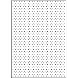 Crafts Too A4 Embossing Folder - Dottie
