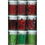 Crafts-Too Glitter Set - Christmas