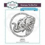 Creative Expressions Stamps by Sue Wilson - Elephant