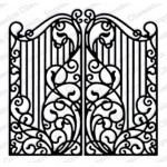 Impression Obsession - Wrought Iron Fence