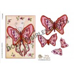 Dolly Dimples - Butterfly Red