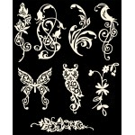 Die Cuts - Flora and Fauna 1 - Ivory