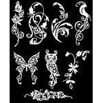 Die Cuts - Flora and Fauna 1 - White