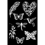 Die Cuts - Flora and Fauna 2 - White