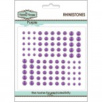 The Hobby House Rhinestones Purple