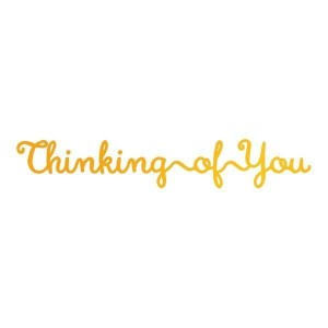 Hot Foil Stamp - Thinking of You