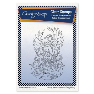 Claritystamp Clear Stamps -Phoenix and Mask