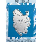 Sharons Card Crafts - Baby Elephant