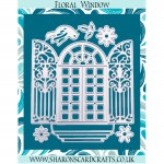 Sharons Card Crafts - Floral Window