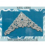 Sharons Card Crafts - Scroll Corner