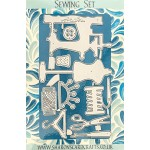Sharons Card Crafts - Sewing Set