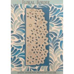 Sharons Card Crafts - Floral Border