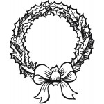 Sleek Designs - Holly Wreath
