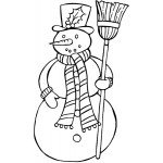 Sleek Designs - Sweet Snowman