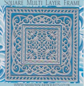 Sharons Card Crafts - Square Multi Layer Frame Die