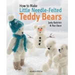 Search Press - Needle-Felted Teddy Bears - Judy Balchin & Roz Dace