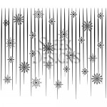 Sleek Designs - Snowflake Shower