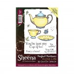 Crafters Companion Stamps - Sheena Douglass My Cup of Tea