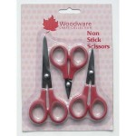 Woodware Set of 3 Non-Stick Scissors